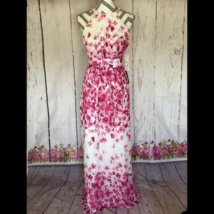 Eliza J cherry blossom maxi dress 🌸❤️